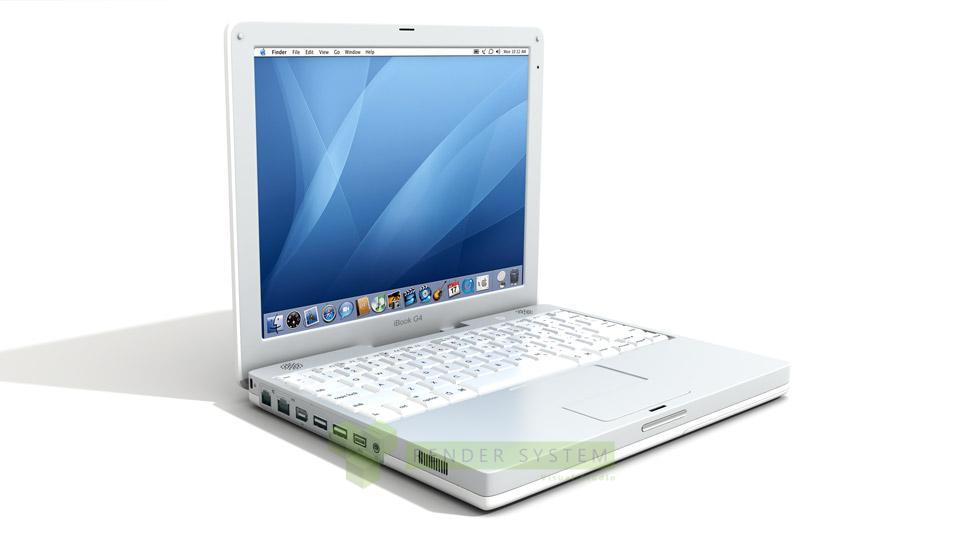 produktová vizualizácia Apple Mac Book