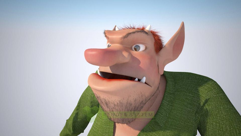 animovaná postavička