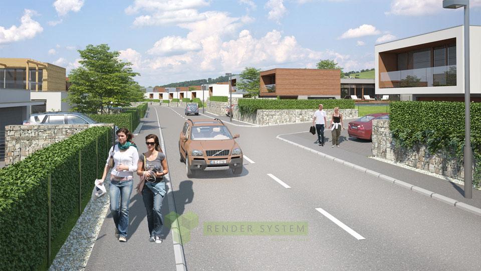 Vizualizácia developerského projektu Sarvaška.